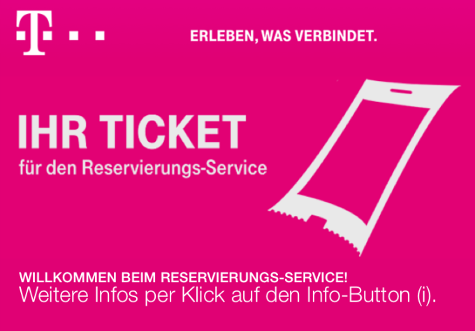 iPhone 6s Premierenticket
