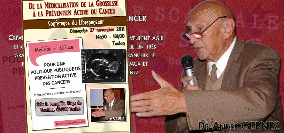 Conférence à Toulon sur la santé ce 27 novembre