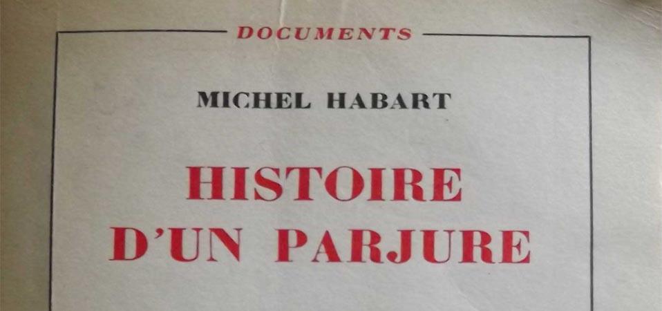 «Histoire d'un parjure» disponible en PDF.