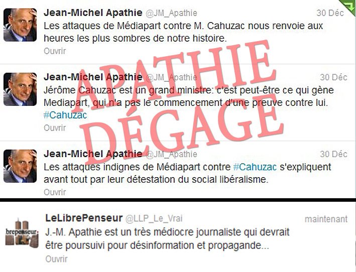 J.-M. Apathie ou la médiocrité incarnée en journaliste !