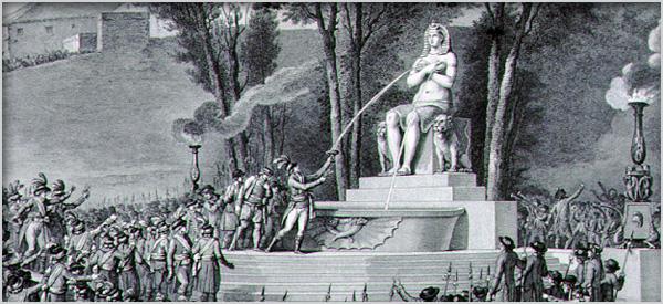 Rappel : la franc-maçonnerie égyptienne, Isis et la Révolution