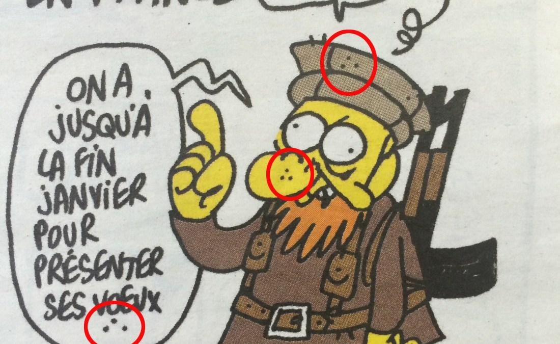 Charlie Hebdo : très curieuse signature maçonnique sur le dernier dessin de Charb