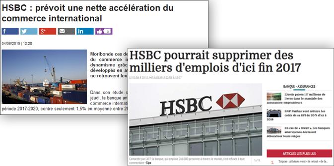 HSBC : les contradictions graves des analystes de cette mafia !