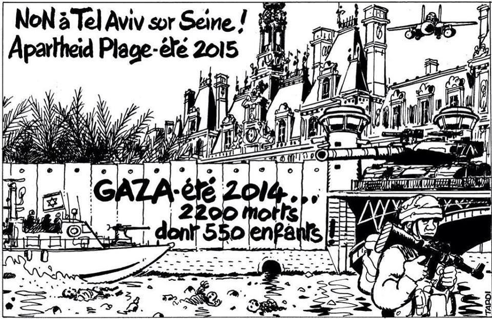 « Tel-Aviv sur Seine » : des checkpoints à Paris…