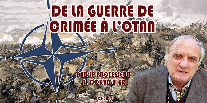 De la guerre de Crimée à l'OTAN par P. Dortiguier