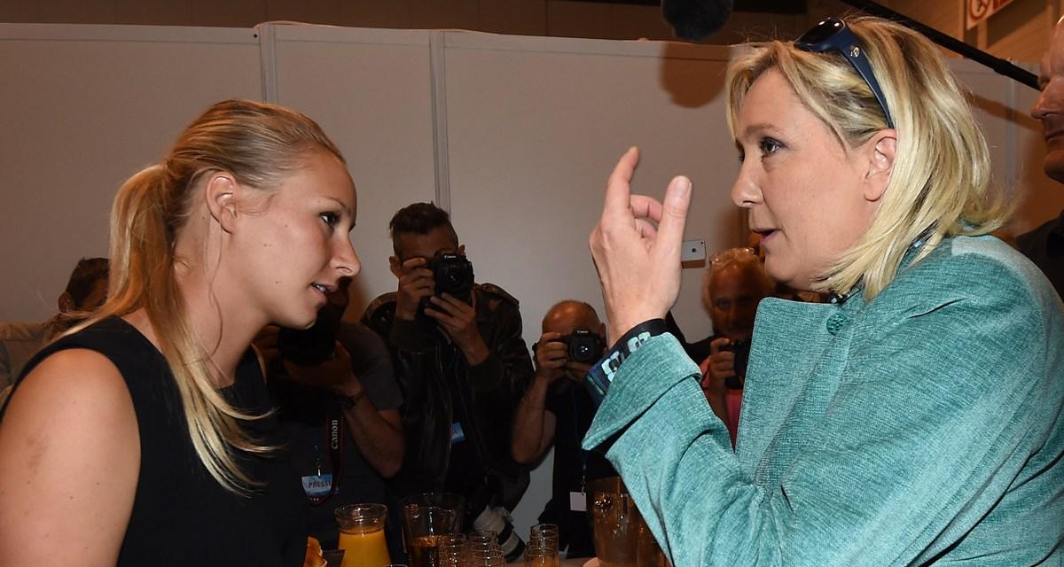 Clowneries : Marine Le Pen désavoue Marion Maréchal-Le Pen sur la suppression des subventions aux plannings familiaux