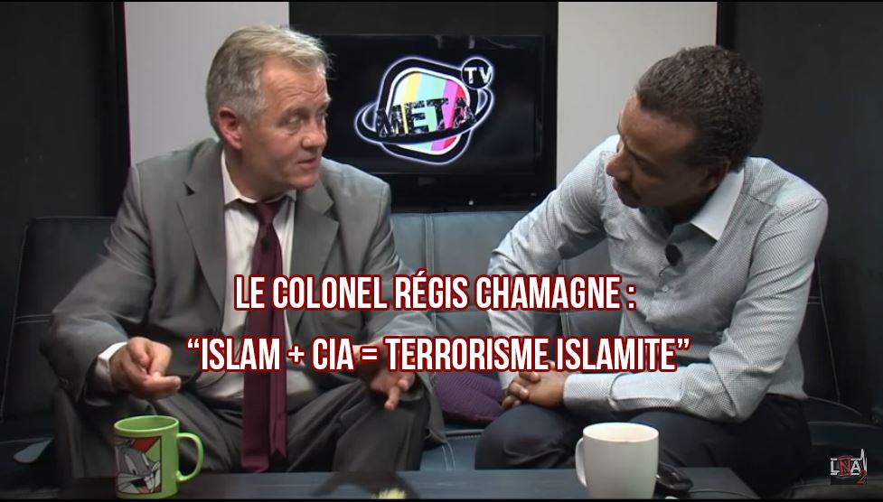 Le colonel Régis CHAMAGNE balance tout sur le complot de la CIA/OTAN