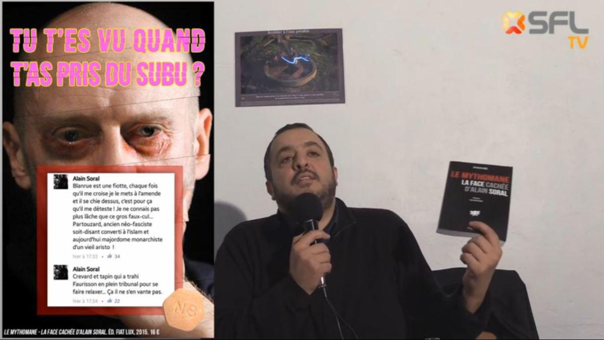 Clash Dieudonné/Soral : revoir la vidéo de présentation du livre «Le Mythomane» pour mieux comprendre