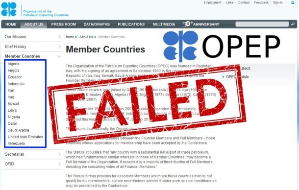 OPEP-faillite