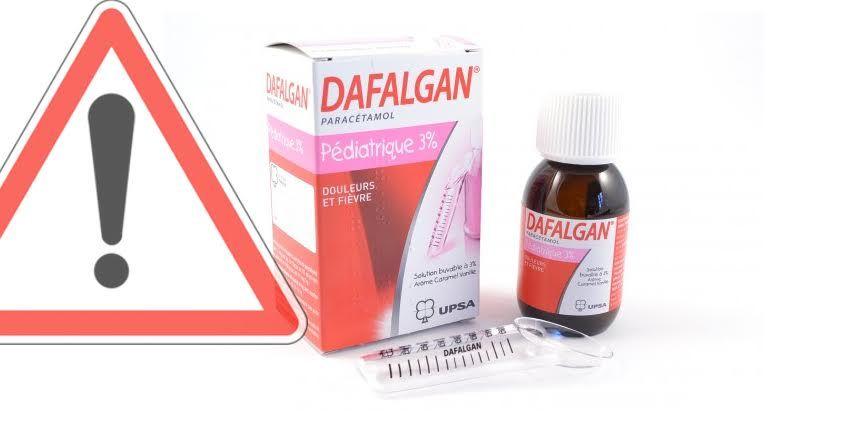 Un lot de Dafalgan pédiatrique potentiellement contaminé