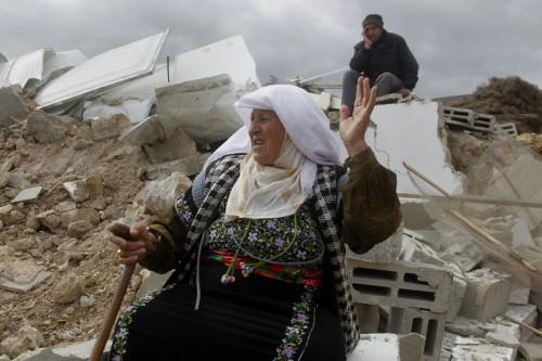 La plus grosse démolition israélienne de la décennie laisse 100 personnes sans abri