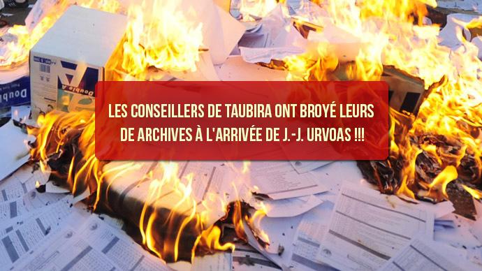 Les conseillers de Taubira ont broyé leurs archives à l'arrivée d'Urvoas