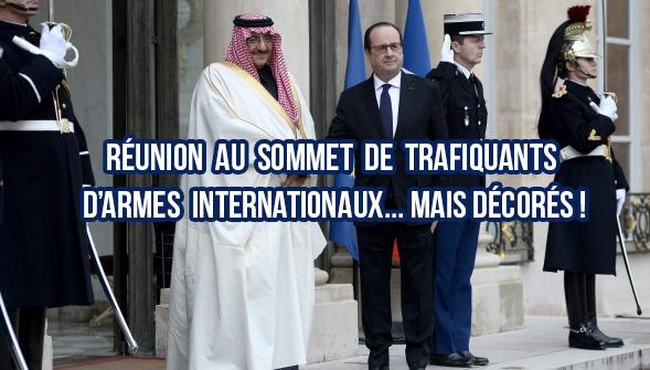 Circus politicus : Hollande a décoré le prince héritier saoudien de la Légion du déshonneur