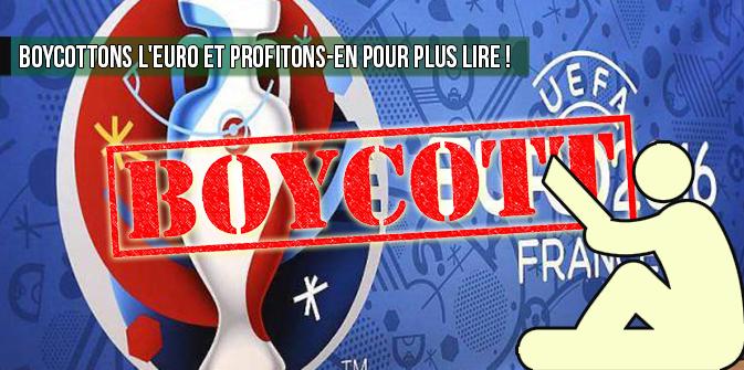 Boycottons l'euro et profitons-en pour lire plus !