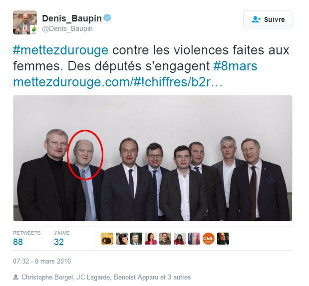 Denis Baupin : l'exemple du sociopathe pervers en politique !