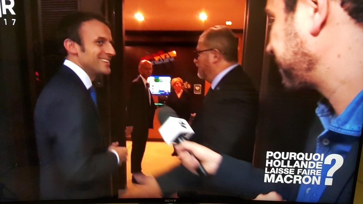 Pourquoi Hollande laisse faire Macron ? Car ce n'est pas lui le patron !