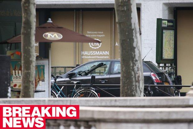 Quand la presse anglaise invente une alerte à la bombe à Paris