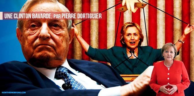 Une Clinton bavarde,par Pierre Dortiguier