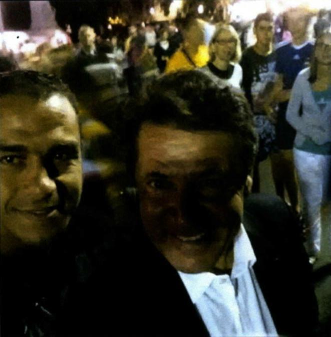 Le selfie d'Estrosi avec le terroriste de Nice !