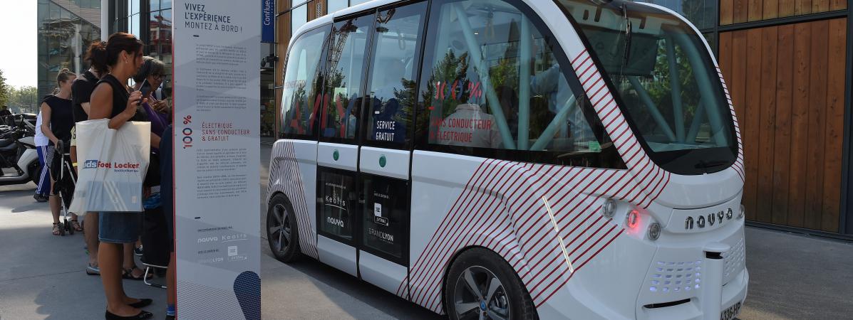 Chômage : après Lyon, une nouvelle navette sans chauffeur testée à Paris !