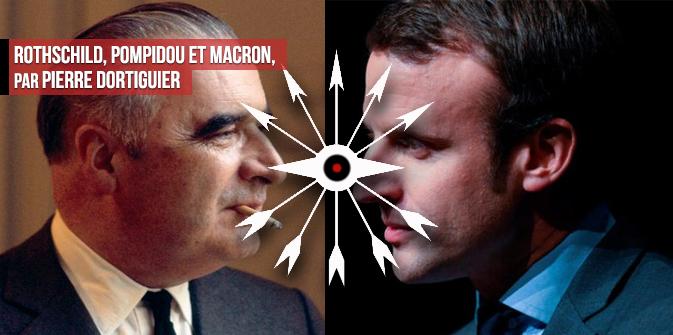 Rothschild, Pompidou et Macron, par Pierre Dortiguier