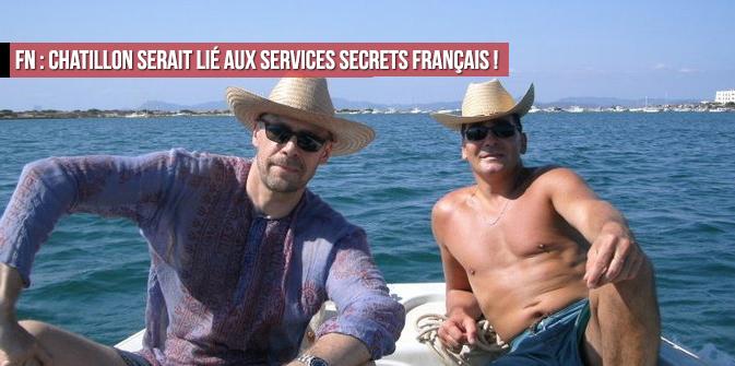 FN : Chatillon serait lié aux services secrets français !