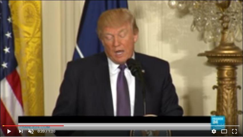 Pour Trump, l'Otan n'est plus «obsolète», mais un «rempart pour la paix internationale»