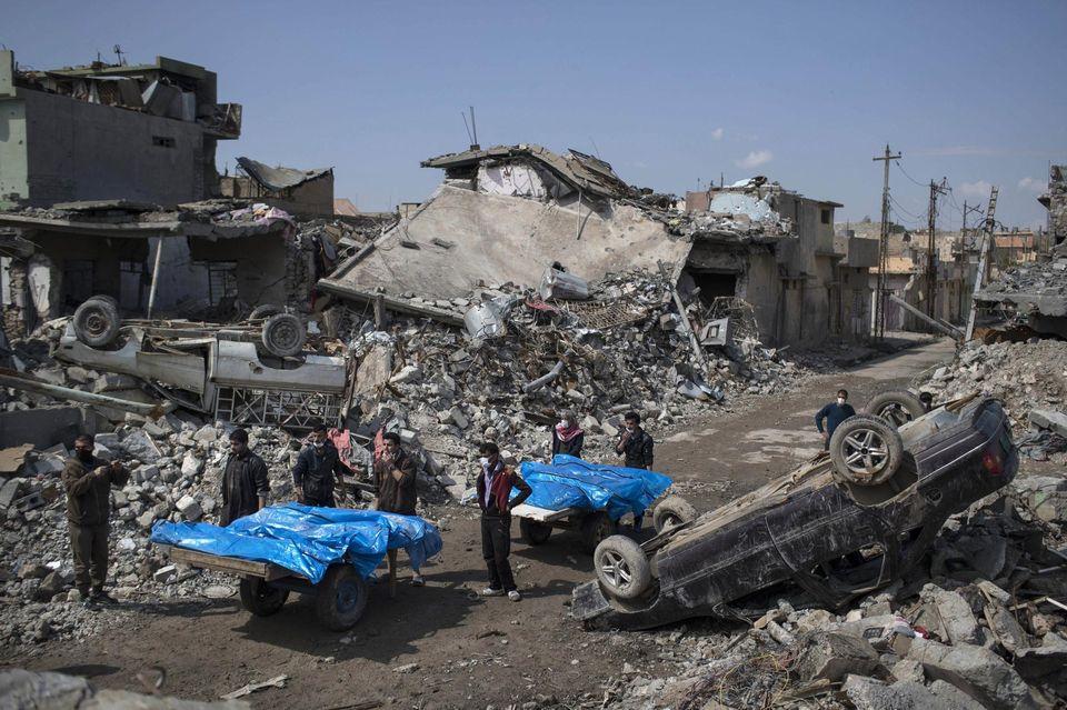 À Mossoul, l'aviation de la coalition fait des centaines de morts civils