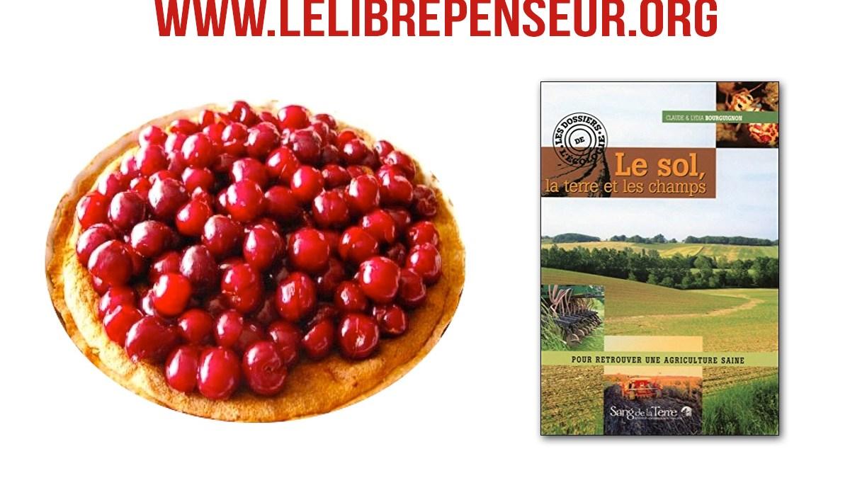 Santé : recette de la tarte aux pommes par C. et L. Bourguignon