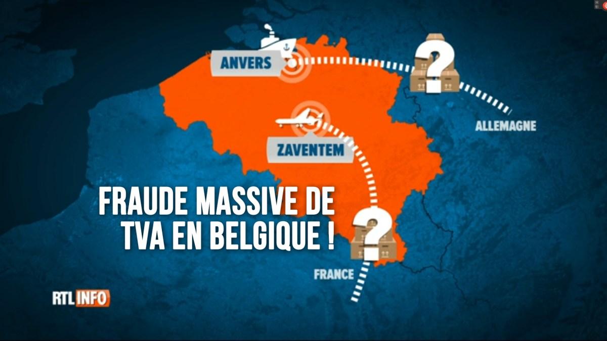 5 milliards € : vaste fraude chinoise à la TVA en Belgique !