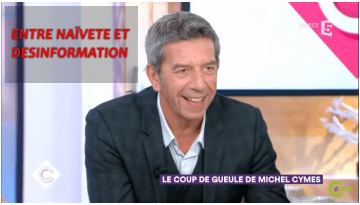 Michel Cymès sur la vaccination : entre naïveté et désinformation