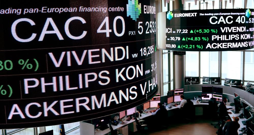 La Bourse de Paris enregistre sa plus mauvaise semaine depuis deux ans