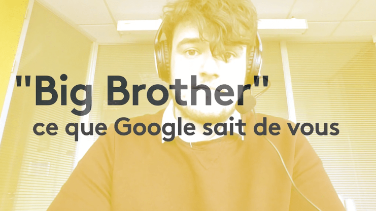 Big Brother : Google garde tout !