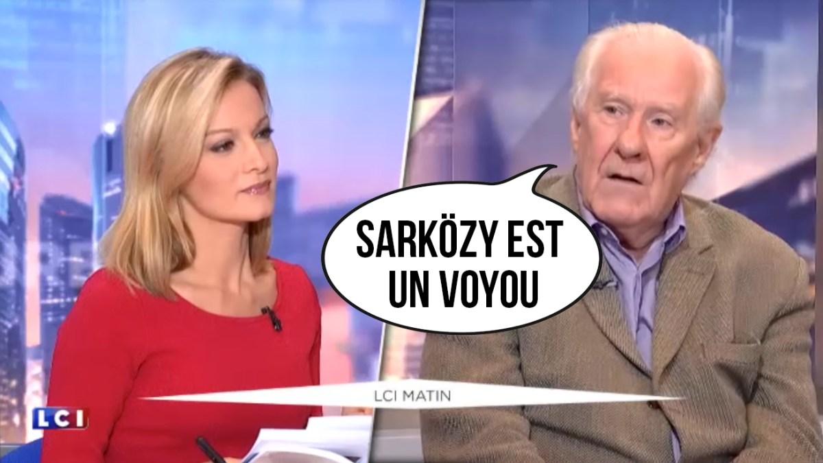 « Sarközy est un voyou » pour Alain Badiou !