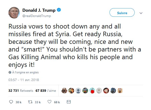La vulgarité de Dumb Trump atteint des sommets !