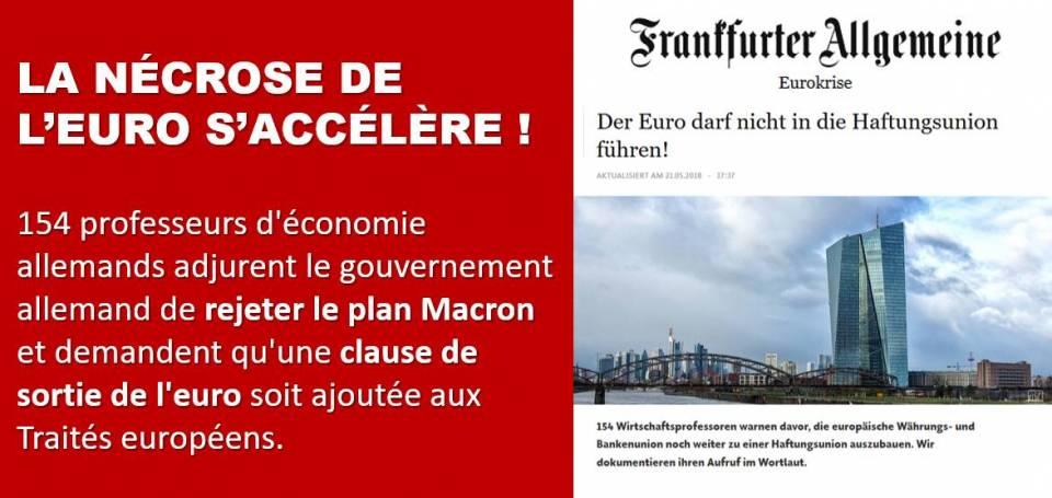 154 professeurs d'économie demandent le rejet du plan Macron !