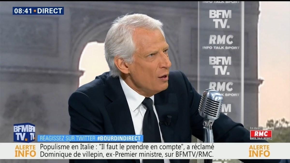 D. Villepin excellent sur la question iranienne !
