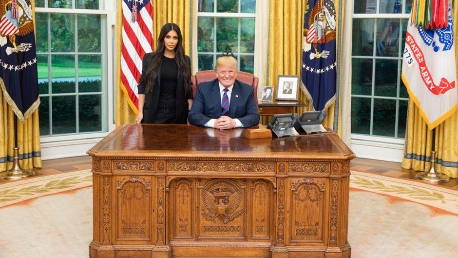 Kali yuga : Kim Kardashian rencontre Donald Trump dans le Bureau ovale