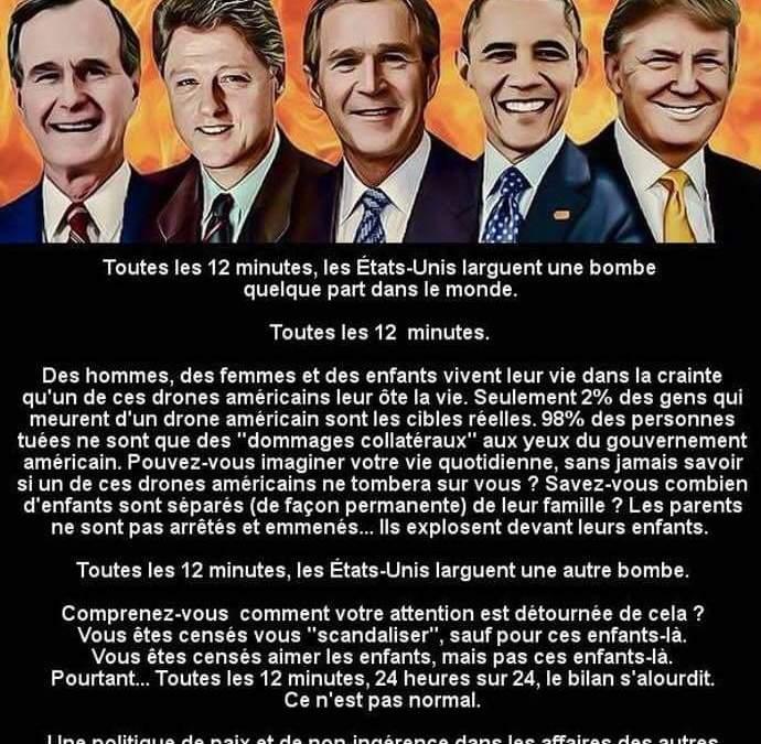USA, le plus grand criminel de toute l'histoire de l'Humanité !