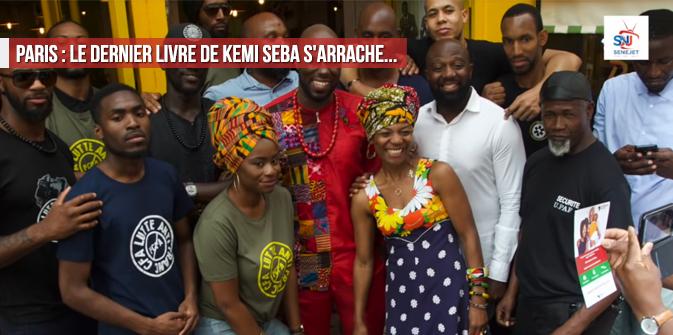 Paris : le dernier livre de Kemi Seba s'arrache…