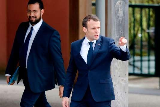 Alexandre Benalla affirme avoir échangé régulièrement avec Macron depuis l'été