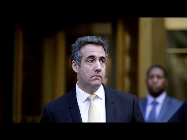 L'ex-avocat de Trump plaide coupable et implique le président