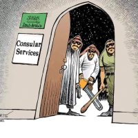 Humour diplomate !
