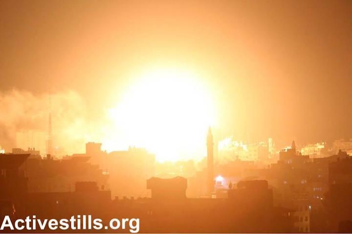 24 heures de destruction à Gaza et dans le sud d'Israël