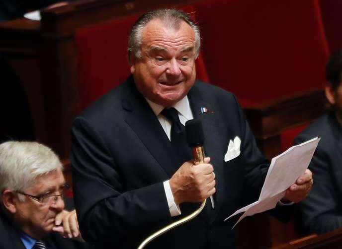 Détournement de fonds publics : un an de prison avec sursis pour l'ancien député Alain Marsaud