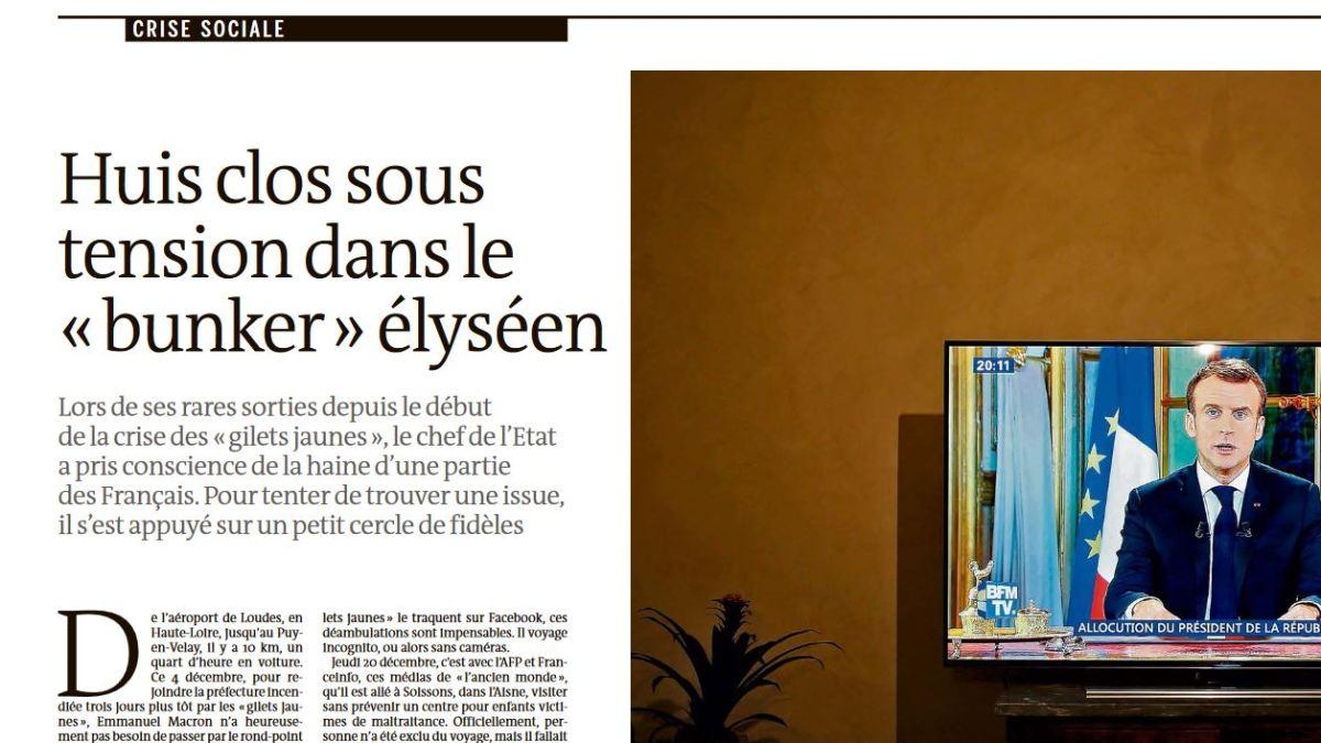 Panique à l'Élysée : « Macron ne sort plus sans se maquiller tellement il est marqué. Il se maquille même les mains » !