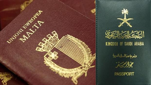 Des milliardaires saoudiens achètent 62 passeports européens à Malte
