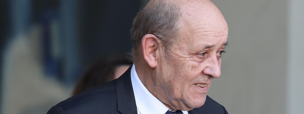 La France est intervenue au Tchad en janvier, selon Jean-Yves le Drian