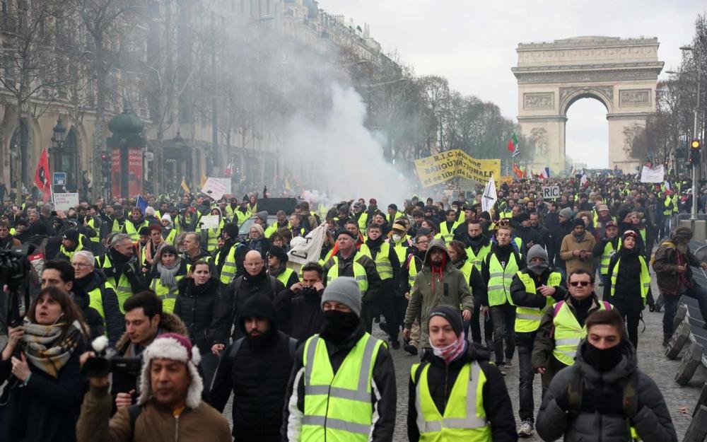 #GiletsJaunes : Acte 13 impressionnant à Paris
