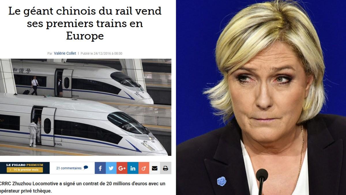 Marine Le Pen démontre encore une fois sa médiocrité !